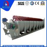 La norme ISO/approuvé ce classificateur spirale/équipement de lavage de minerai de sable dans l'usine de transformation des minéraux
