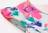 Vestido de flor de flor de algodão de moda em crianças Frock com roupas para crianças