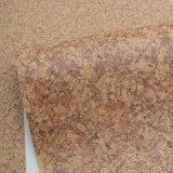 レトロの花の木の穀物上塗を施してある失敗PVCスポンジ袋の革