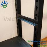 Rack de mostrar la pantalla de metal de MDF de fábrica de estante para Tienda de ropa