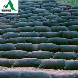 Agulha de poliéster não tecidos Geobag perfurado para protecção da Inclinação