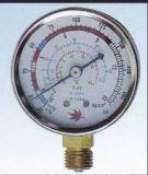 Calibro del residuo di pressione di olio di Resour per refrigerazione