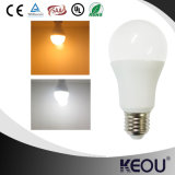 2016 alta lámpara eficiente de calidad superior de la luz 7W de la noche del día E27
