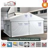 Alumínio de alta qualidade usado tendas com teto de PVC branco comum abrange e flancos para o Hajj