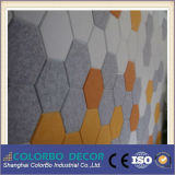Techo acústico de madera de lana panel acústico del panel de pared