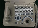 10.4の'手によって運ばれた超音波診断システムの携帯用超音波のセリウムは示した