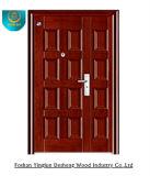 Puerta de acero de seguridad, puertas blindadas de la placa casera