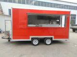 Тележка еды трейлера еды цены по прейскуранту завода-изготовителя передвижная варя трейлер