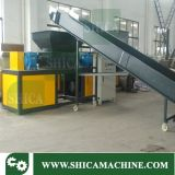 Recycle Rubber / Plastic Drum / Plastic Film / Bag / Two Shaft Puissant Shredder