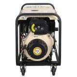 luftgekühltes bewegliches Dieselset des Generator-5kw (grosse Räder)