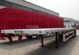 3 мост 40 футов планшет контейнер с прицепа контейнер блокировки