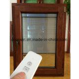 오크재 클래딩 알루미늄 여닫이 창 Windows