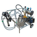 Um motor elétrico da máquina de ordenha Baldes Ordenhador bomba de vácuo
