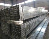 Galvanizado en caliente del tubo de acero cuadrado/Pre-Gal el tubo de acero
