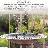 Decoração de jardim manancial da bomba de água solares flutuantes para exterior piscina lagoa com efeito de estufa