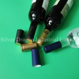 Les capsules rétractables en PVC personnalisé pour bouteille de vin l'étanchéité