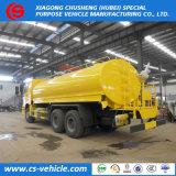 Precio con descuento Sinotruk HOWO 6X4 de 20 metros cúbicos de depósito de agua a 20 toneladas para la venta de camiones de pulverización
