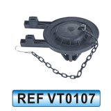 Guarniciones del tanque de agua de tocador, accesorios del tanque, válvula de entrada del tanque (VT0107)