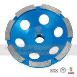 터보 알루미늄 기본적인 똑바른 다이아몬드 돌 콘크리트를 위한 가는 컵 바퀴