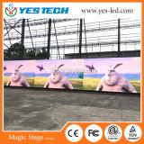 A todo color de alto contraste SMD LED pantalla grande al aire libre