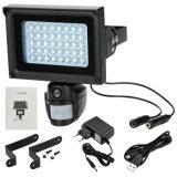 Солнечные приведенные в действие камеры светильника HD IP PIR CCTV беспроволочные с прожектором СИД
