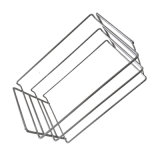 Acero inoxidable OEM arcón congelador canasta con revestimiento de PVC
