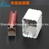 Profils en aluminium enduits par poudre pour le guichet et la porte d'intérieur de ménage