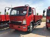 최신 판매 HOWO 4X2 160PS 21FT 유럽 3 화물 트럭