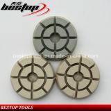 D80mm droog/Nat Oppoetsend Stootkussen voor Beton, Graniet en het Marmeren Malen