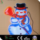 2D het Schilderen van de Kerstman Licht voor BinnenKerstmisDecoratie