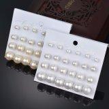 Pendientes del espárrago de la manera de Brincos Pendientes Mujer de las joyas de 12 pares