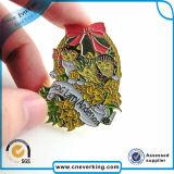 Серебряный Pin отворотом легирующего металла цинка эмали