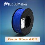 3D 인쇄 기계 Drak 파랑 색깔을%s 1.75mm 아BS 필라멘트