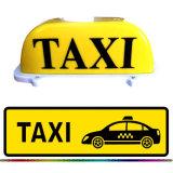Lampada di colore giallo del lato del doppio di alta luminosità o indicatori luminosi personalizzati /Lamp del tetto del tassì della casella chiara LED della cupola dell'automobile di colore