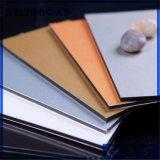 Comitato composito di alluminio Acm ASP del segno del rivestimento materiale del PE della decorazione