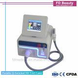 Schalter-Laser-Maschine 1064 /532nm-Q für Tätowierung u. Pigment-Abbau