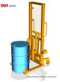 中国の工場普及したドラムトラック、重量を量るスケールのタイプ400kgとの油圧ドラムカートの価格、