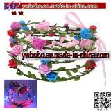 LED 꽃 Hairband 머리띠 Light-up 결혼식 부속품 (B3071)