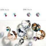 Nohf ontruimt Bergkristal van het Kristal van 8 het Grote 8 Kleine Ss16 Ss20 Ss30 niet Hotfix Flatback Strass voor de Kunst van de Spijker (fB-Ss20 clear/5A)