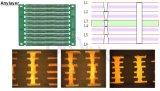 Em face única placa de circuito impresso LED Rigid-Flexible PCBA RoHS/CCC/ISO