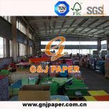 Papéis não revestidos de papel Bond de cor na folha para impressão