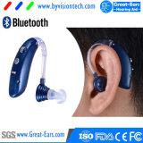 재충전용 Bluetooth 이어폰 보청기 증폭기 무선 Oxsound 증폭기