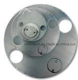 Placa redonda e a Shell do permutador de calor