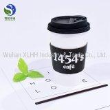Рекламный Бизнес экологически безвредные двойные стенки коричневый крафт-бумаги кофе чашки