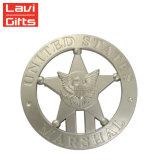 高品質のカスタム軍の金属3Dの旧式な記念品のワシの折りえりピン