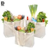 Оптовая торговля органический хлопок многоразовые сумки для покупок продуктов переработки овощей