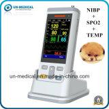 Video veterinario tenuto in mano portatile dell'ossimetro di impulso dei segni vitali di Medicl