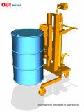 450kg elte Geschäfts-hydraulischer Trommel-LKW mit Schuppe Dtf450A-1 rad
