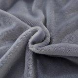 安く明白なカラー極度の柔らかく暖かいフランネルの羊毛毛布