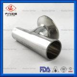 Acessórios para tubos sanitários de aço inoxidável T de redução